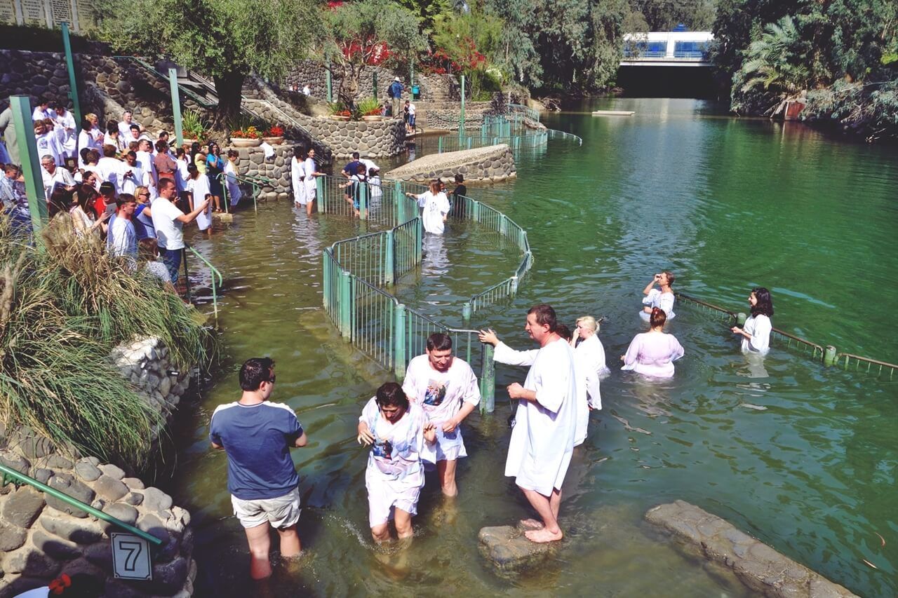 Baptis di Sungai Yordan