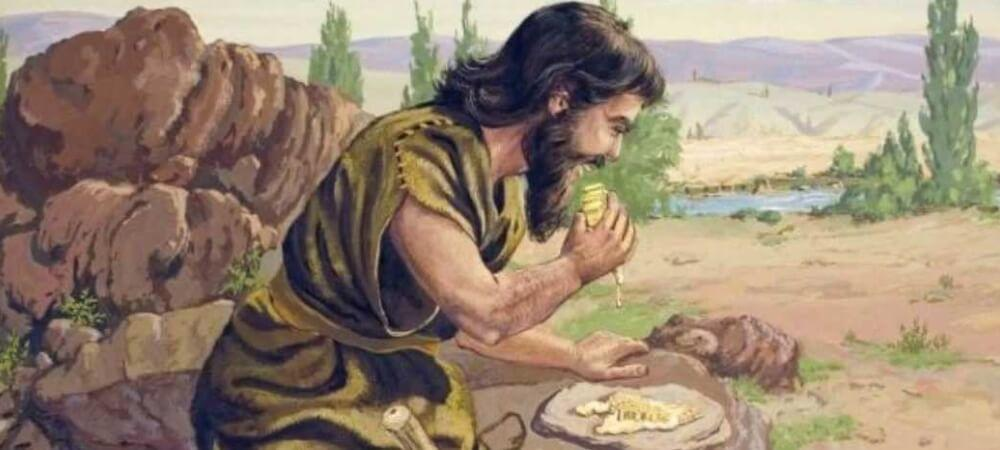 Yohanes Pembaptis makan belalang