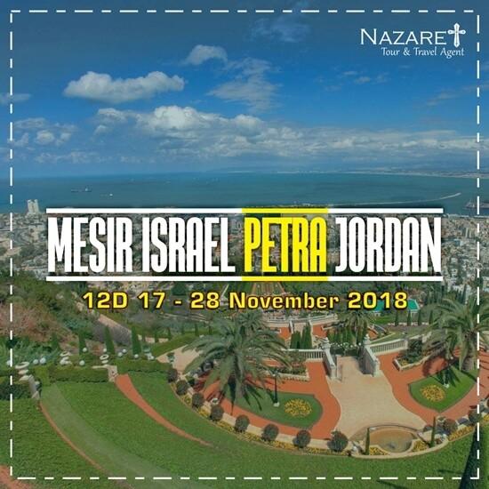 Paket Tour Israel November 2018