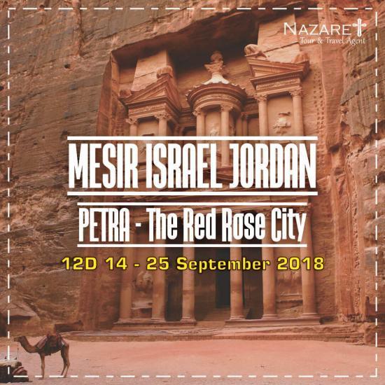 Paket Tour Ziarah Israel