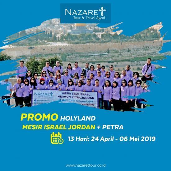 Paket Tour ke Israel April 2019