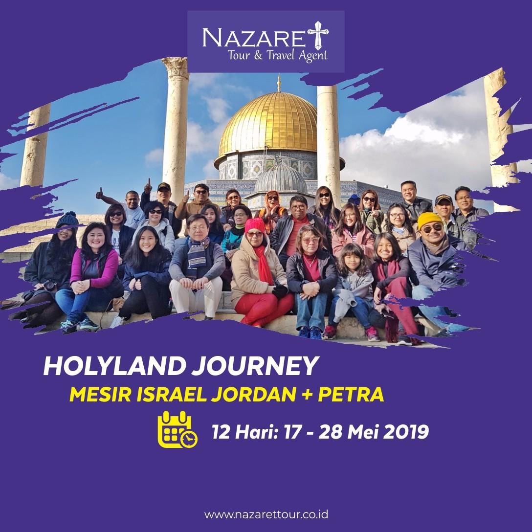 Tour Israel Mei 2019