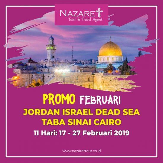 Tour Ziarah ke Yerusalem 2019