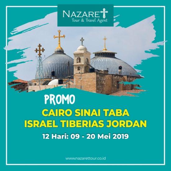 Ziarah ke Yerusalem 2019