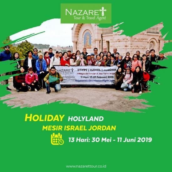 Holyland Tour Promo Juni 2019