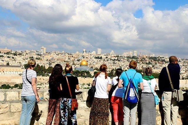 Tour ke Yerusalem