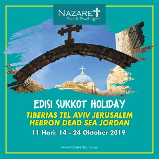 Ziarah ke Yerusalem Sukkot 2019