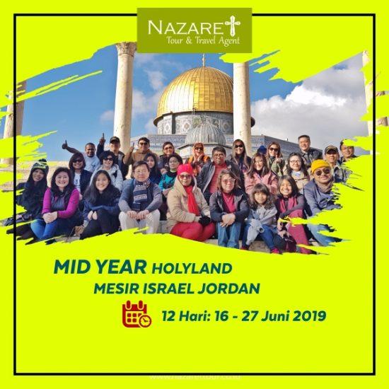 Tour ke Israel Juni 2019