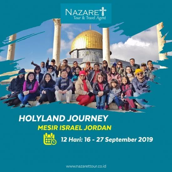 HOLYLAND TOUR SEPTEMBER 2019