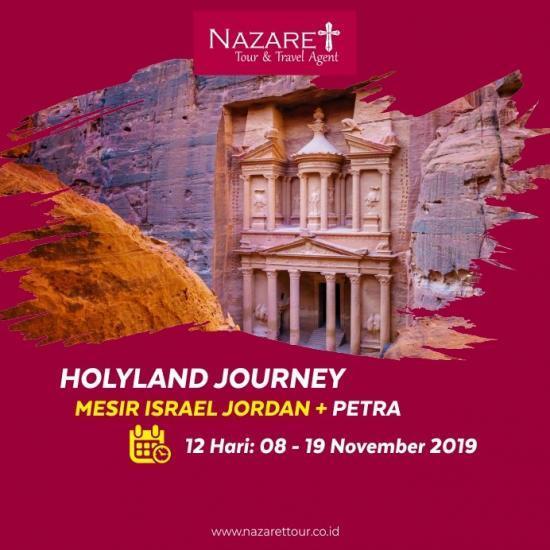 PAKET ZIARAH KE ISRAEL NOVEMBER 2019