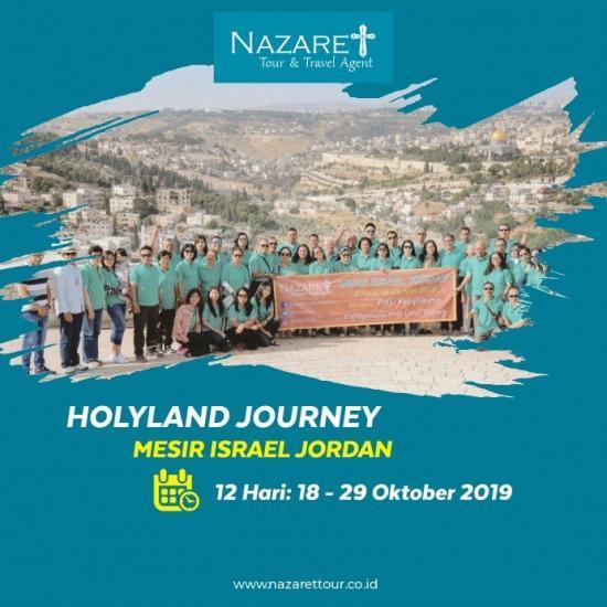 TOUR HOLYLAND 17-28 OKTOBER 2019