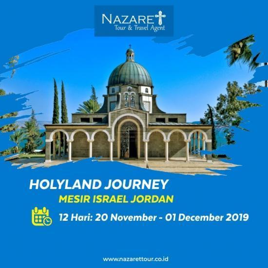 TOUR HOLYLAND KE ISRAEL