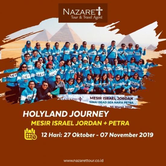 ZIARAH MESIR YERUSALEM 2019