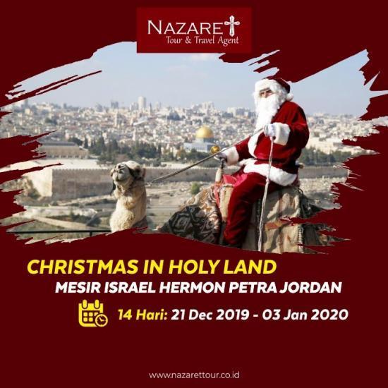 PAKET TOUR ISRAEL EDISI NATAL