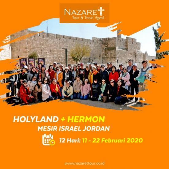 TOUR ISRAEL MURAH 2020