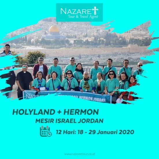 TOUR KE ISRAEL JANUARI 2020