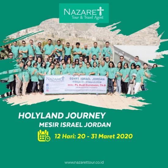 Tour Ziarah ke Yerusalem 2020