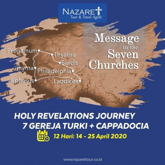 TOUR ZIARAH TURKI 7 GEREJA 2020
