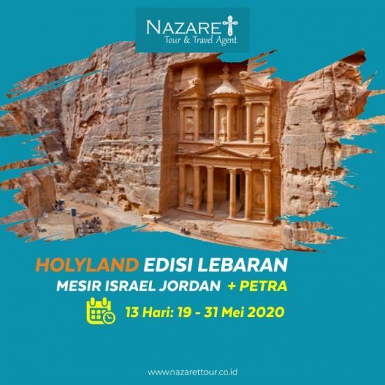 TOUR HOLYLAND MEI 2020
