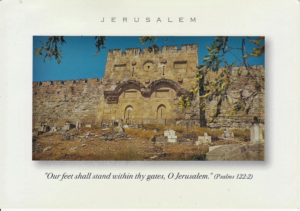 gerbang emas yerusalem