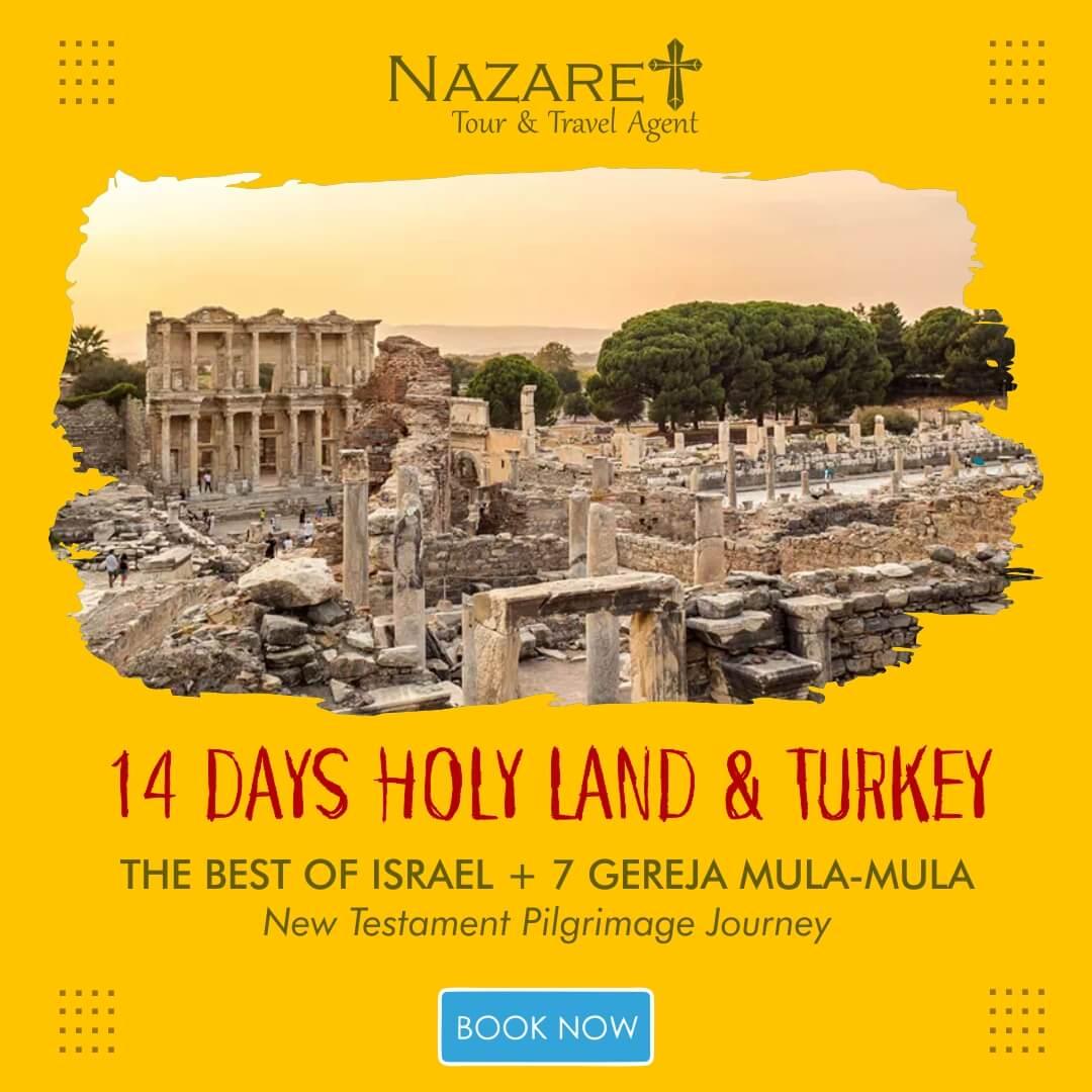 tour turki 7 gereja