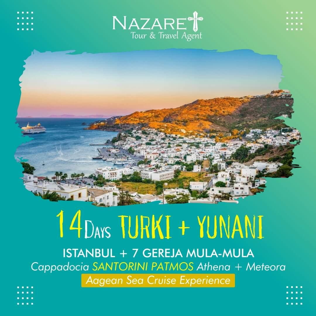 tour turki patmos yunani